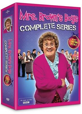 Mrs. Brown's Boys: The Complete Series Box Set (Brand New, DVD, 8-Disc Set)