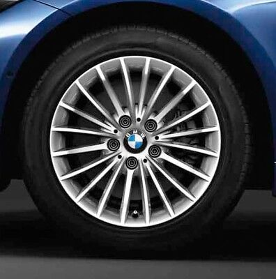 4 BMW Roues D'Hiver Coiffant 414 225/50 R17 94h 3er F30 4 F32 72db Neuf 18bmw-83