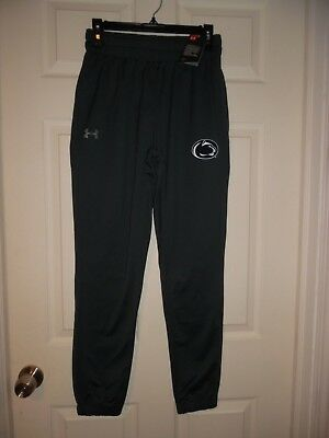 PENN STATE NITTANY LIONS UNDER ARMOUR STORM LOOSE SWEAT PANTS Men's Size Small