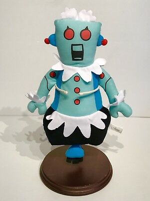 """The Jetsons Rosie The Robot Maid 14"""" Plush Toy Stuffed Animal VGC"""