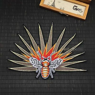 New Bee Fashion Embroidered Sew On Jacket Patch DIY Clothing Applique