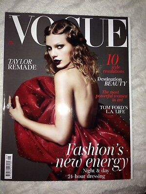 Vogue Magazine - January 2018 - Taylor Swift Cover Subscribers Edition