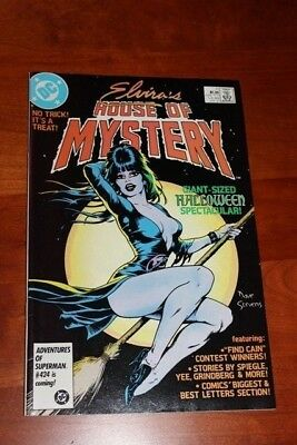 Elvira's House of Mystery #11 VF/NM, Hard to Find Dave Stevens cover Great Price