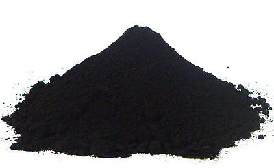 Powder iron oxide (Fe2O3) Black 500 grams Used in / ceramic / pigments -