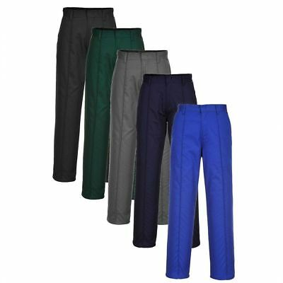 Portwest Mayo Plain Work Trousers Durable Pants Security Guard Workwear S885
