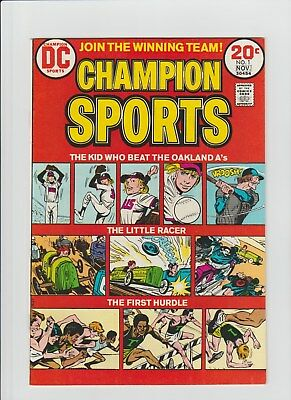 Champion Sports #1 (Oct-Nov 1973, DC) NM- (9.2)