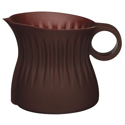 Sweetly Chocolate Microwave Melting Jug Pot Silicone Brown Very Small 100ml