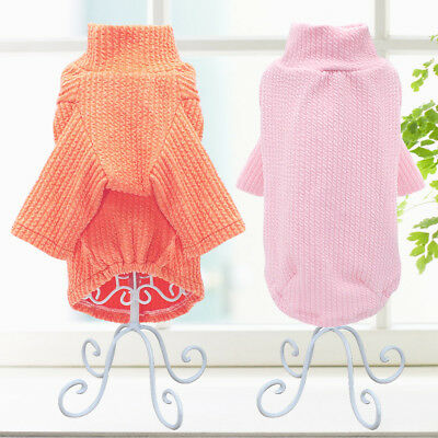 Dog Knitted Sweater Chihuahua Clothes Pajamas Pet Puppy Cat Jumper for Yorkie