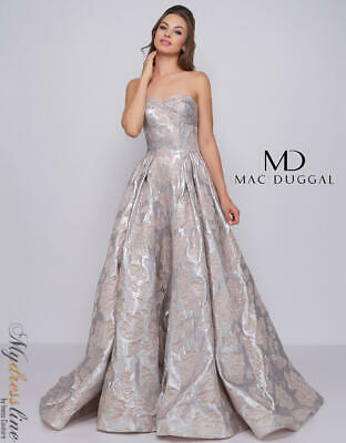 AUTHENTIC MAC DUGGAL Dress 62758-Color:Emerald-Size:10-Prom