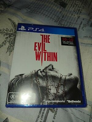 PS4 - The Evil Within - brand new & sealed