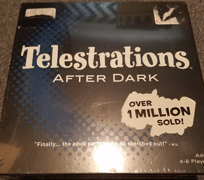 drawing game telestrations NEW SEALED USAopoly Telestrations The Original 8 Player