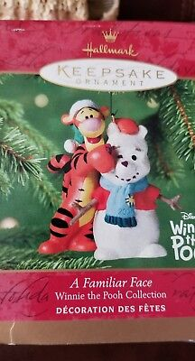 "Hallmark keepsake ornaments Winnie the Pooh Collection ""A Familiar Face"""