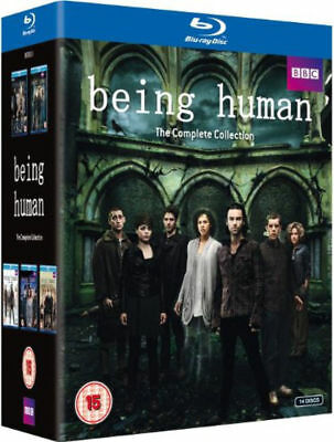 BBC Being Human Complete Series 1-5 Collection Blu-ray Boxset Region Free A,B,C!