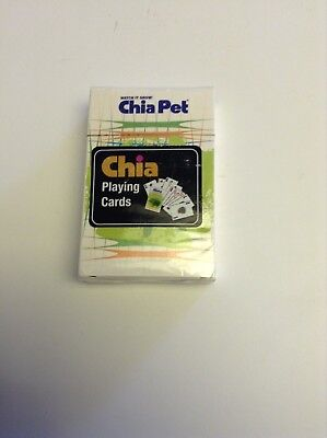 Chia Pet Playing Cards