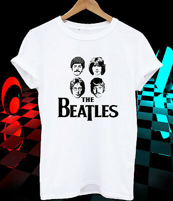 The Beatles T-shirt Rock band music kid men women christmas gift idea