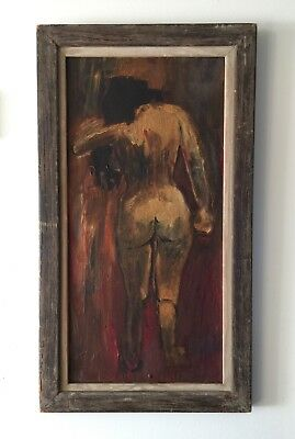 "Oil Painting American-Chinese Signed ""YunGee"""