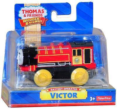 Thomas The Tank Engine Wooden Railway Battery Operated Victor Brand New