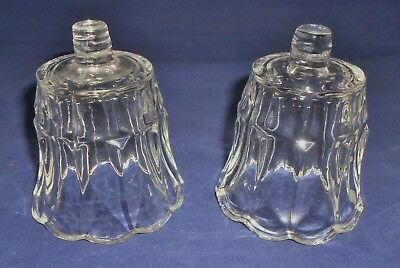 Homco HOME INTERIORS Starlite Tulip  Votive Cups Wall Sconce Candle Holders 2