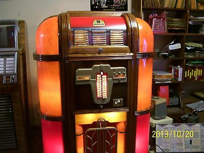 rock-ola prewar jukebox