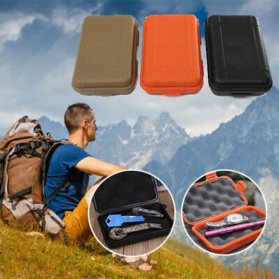 EB43 02CE Survival Kit Shockproof Waterproof Case Container Storage Portable Box