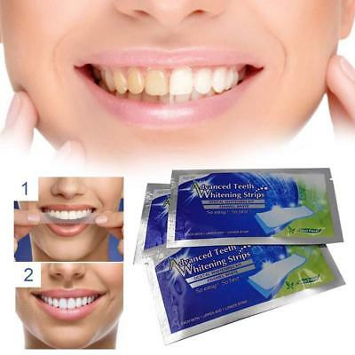 14 Pairs Advanced Teeth Whitening Strips Sticker White Tooth Bleaching-Taps