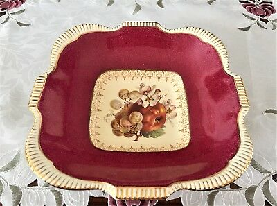 Vintage Burleigh Ware B & L Ltd Made In England Fruit Pattern Bowl C1930's
