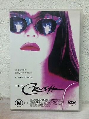 The Crush (DVD) 1993 Cary Elwes Movie Alicia Silverstone - THRILLER - RARE ! R4