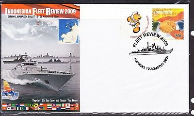 Indonesia 2009 Navy Fleet Review First Day Cover