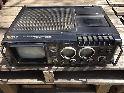 National Radio Cassette TV Player TR- 5000A