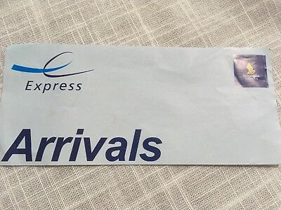 Singapore Airlines Express Lane Airport Arrival Pass Inwards Any Airport