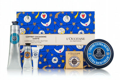 NEW L'Occitane Comforting Shea Butter Festival Collection Gift in Box 30%OFF