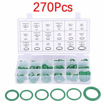 270pcs Car Air Conditioning Compressor O-ring Seal Gasket Rubber Oil Seal MA1726