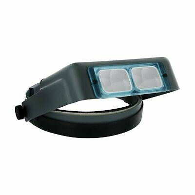 Headband Magnifier Hands Free Magnifying Glass x2.5 OP1761-05 OptiVISOR