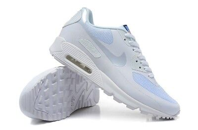 NIKE AIR MAX 90 Hyperfuse White Independence Day Men Trainers UK Size: 8.5