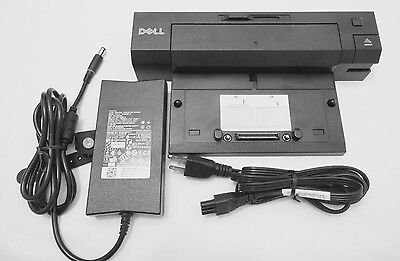 130w New Dell docking Station E Port plus USB 2.0 Latitude With PA4E Adapter