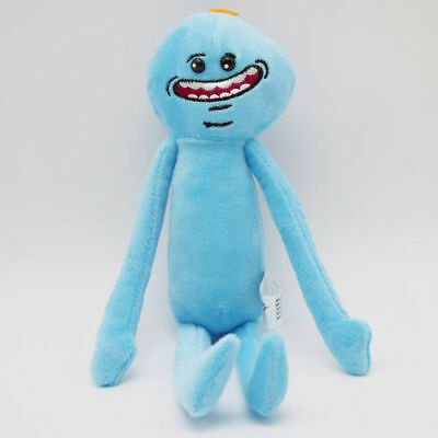 Rick and Morty - Mr.Meeseeks (Happy) - Plush Stuffed Toy Dolls - Brand New!