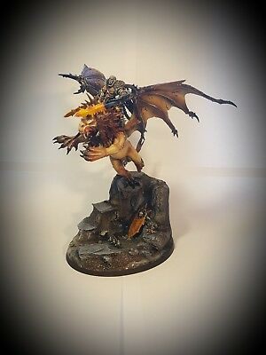 Warhammer age of sigmar - chaos Magnetised Chaos Lord Sorcerer manticore