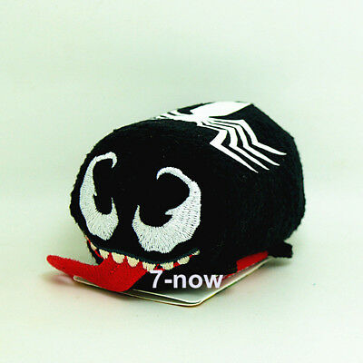 "New Tsum Tsum 3 1/2"" Spider-man Venom Superhero mini Stuffed Soft plush Toy Doll"
