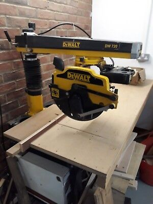 Dewalt Radial Arm Saw DW720