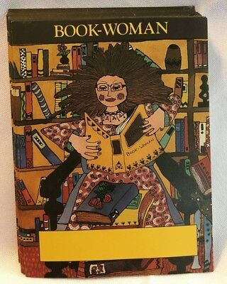 Decorative Bookplates lot of 25 Book Woman Antioch Publishing