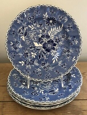 Johnson Brothers DEVON COTTAGE Salad/Accent  Plate ~ Set of 4 ~ New