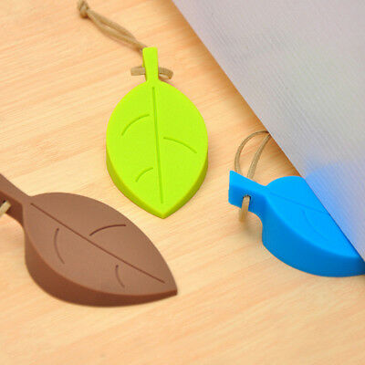 Rubber Stop Wedge Security Leaf Gates Door Stopper Protection Baby Finger Safety