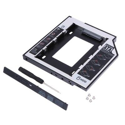 2nd SATA HDD SSD Caddy Bracket Adapter For HP EliteBook 2530P 2540p 2560p 2570p