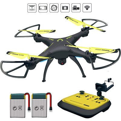 RC Drone Camera Live Video HD FPV Drones RC Quadcopter 2.4GHz 6-Axis Gyro NEW US