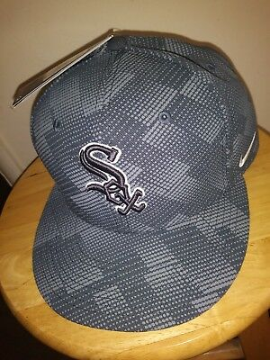 free shipping 3dce6 80875 ... best price nike mlb chicago white sox cap true snapback anthracite hat  adult adjustable nwt a43d3