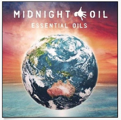 Midnight Oil - Essential Oils - Greatest Hits...2 X Discs...new & Sealed   *40