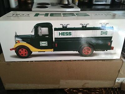 2018 Collector's Edition First HESS Truck Toy LIMITED 85th Anniversary NEW