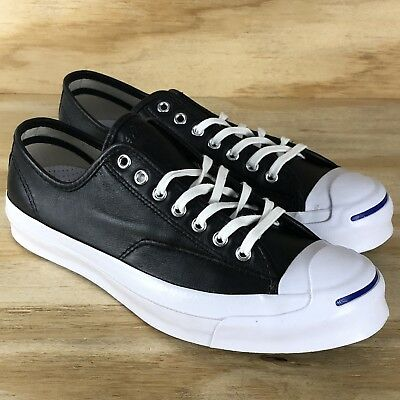 f1827a3098930c Converse Jack Purcell Signature Ox Black White Low Top Shoe  149910C  Multi  Size