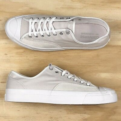 8c130c84f406 Converse Jack Purcell Pro Ox White Tan Nike Zoom Low Top Casual Shoe  157877C Sz