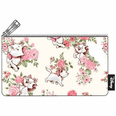 NIB LOUNGEFLY Aristocats Marie Floral Print Pencil Coin Case Makeup